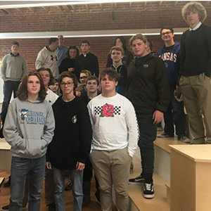 PHS Students Tour Baskervill Architects