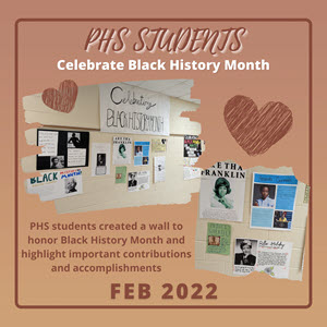 Poquoson High School Students Celebrate Black History Month