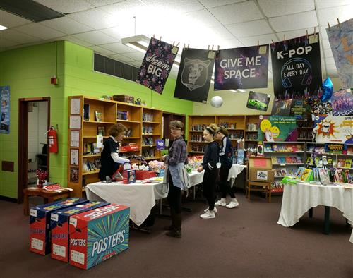 Book Fair at PMS