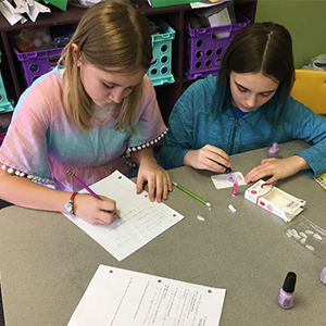 PMS Students Learn Comparative Testing