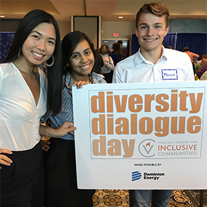 Poquoson Students Attend Diversity Dialogue Day