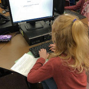 Student participates in writing contest