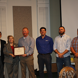 Dominion Energy Recognized at Poquoson School Board Meeting