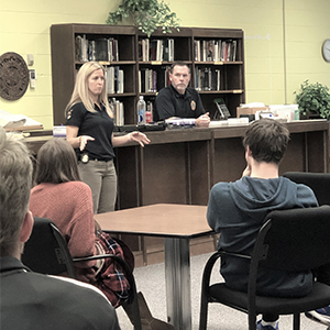 FBI Agents Visits Forensic Science Class at PHS