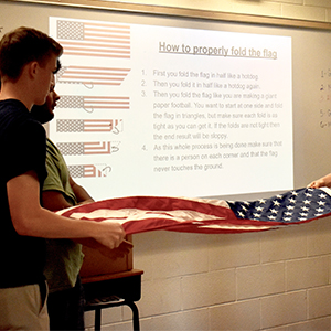 Military Science Class