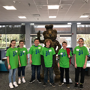 Poquoson Middle School Great Computer Challenge Teams