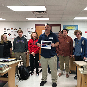NASA HUNCH Program Visited Poquoson High School Students
