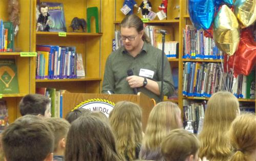 Nathan Hale Author Visit