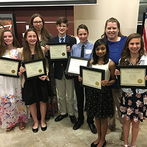 Holocaust Writing Competition Poquoson Middle School students participated in the United Jewish Comm