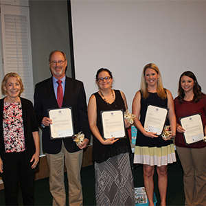 Poquoson Kiwanis Recognize Teachers of the Year