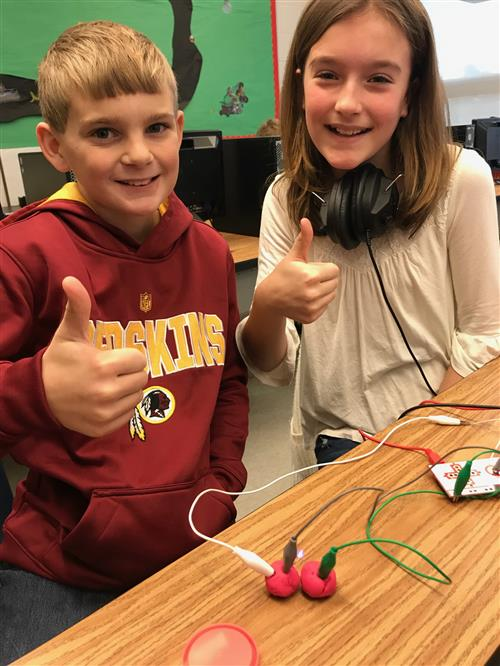 Makey Makey Circuit Success