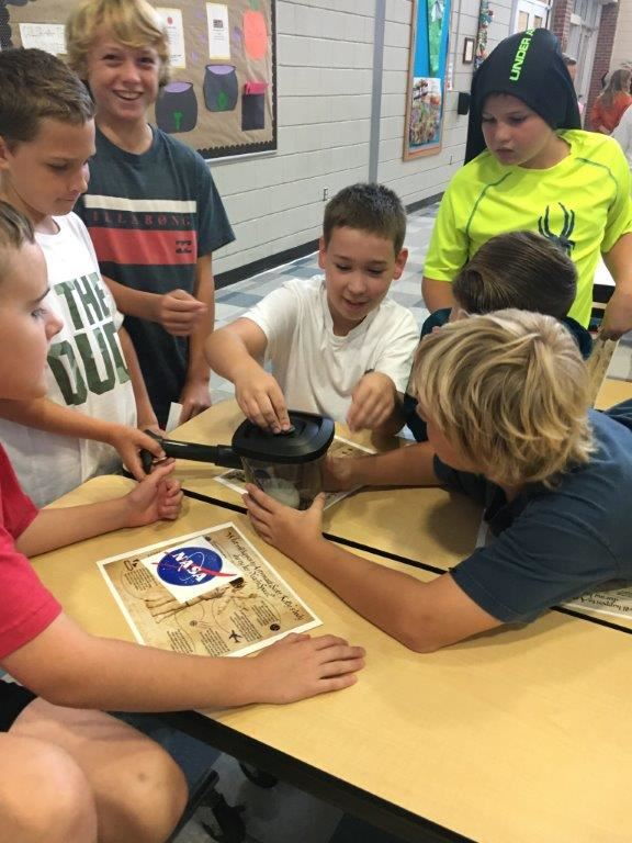 Space Week at Poquoson Elementary
