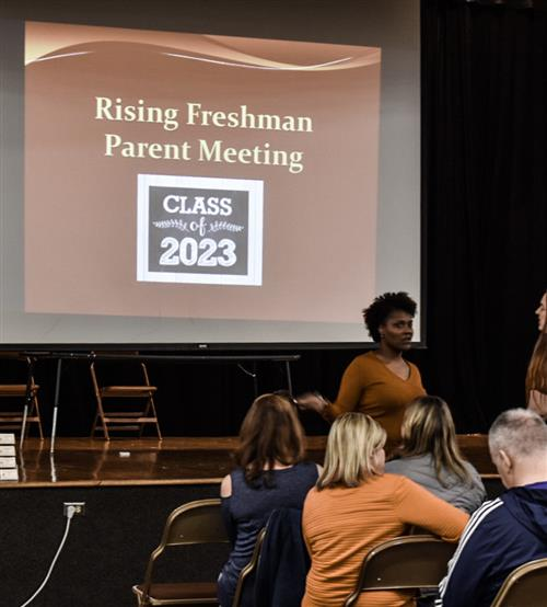 Rising Freshman Parent Night