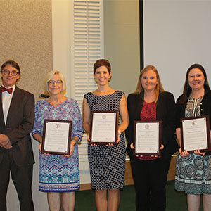 Board of Education Distinguished Achievement Award