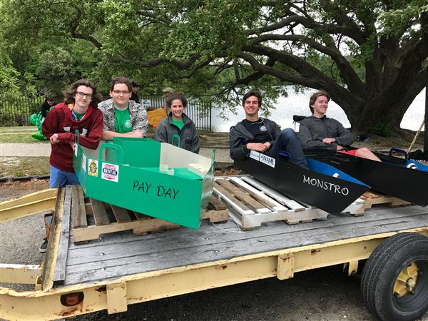PHS Students Win at Boat Design Competition