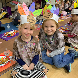 Kindergarten's Thanksgiving Feast