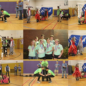 Poquoson High Odyssey of the Mind Team is Going to the World Competition