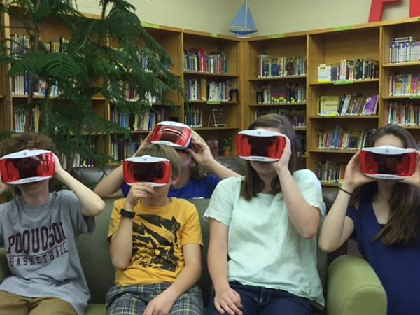 Students Experience Virtual Field Trips